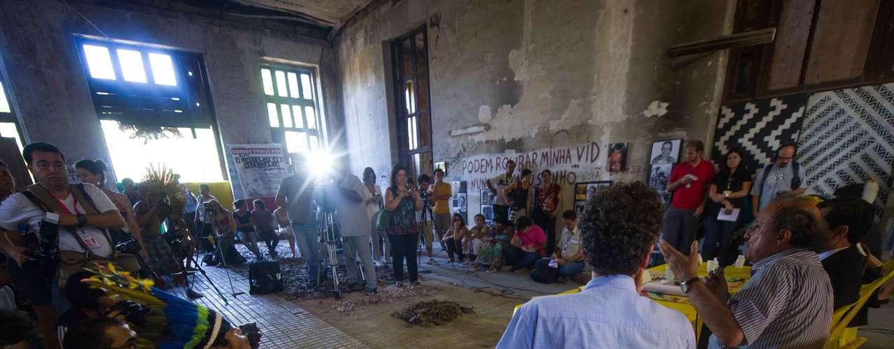 Índios reivindicam que o local seja transformado em um polo de cultura
