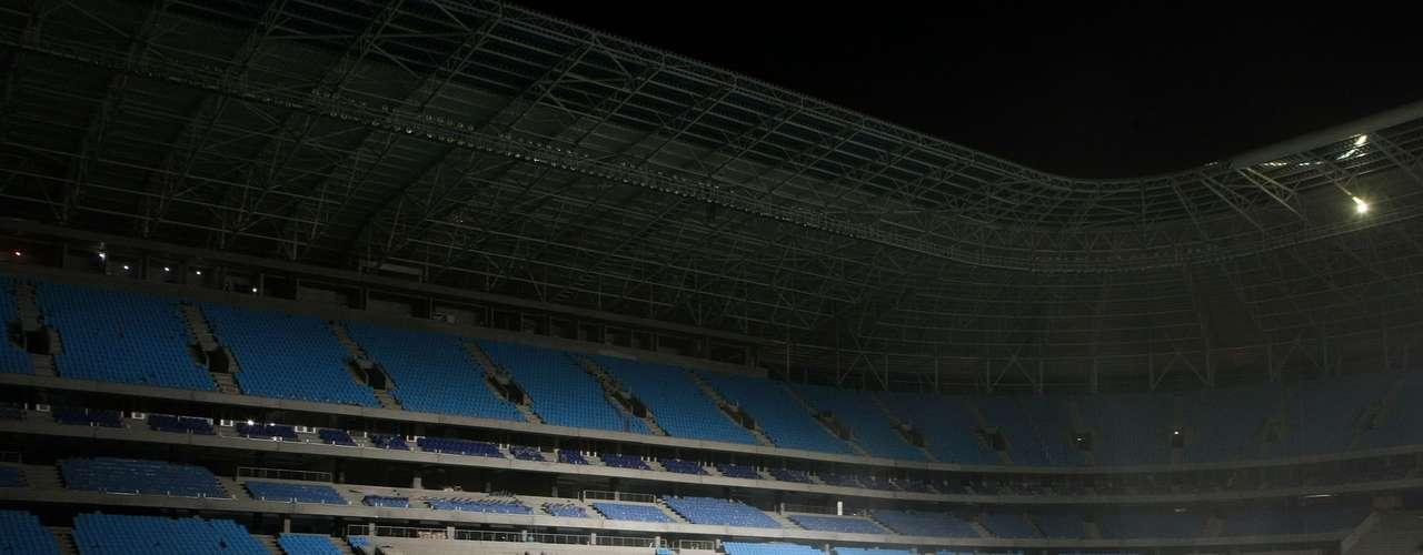 Arena do Grêmio será inaugurada em 8 de dezembro