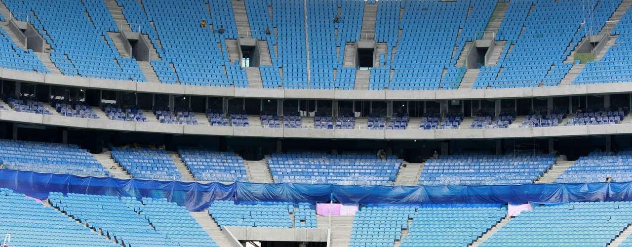 Arena do Grêmio tem capacidade para 60 mil pessoas