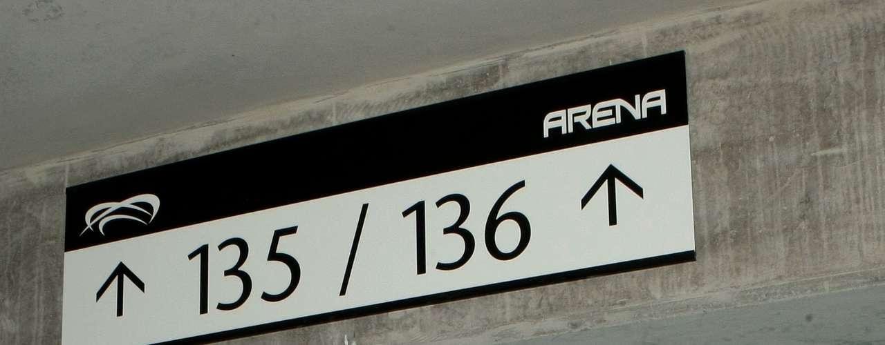 Assentos da Arena do Grêmio são todos numerados