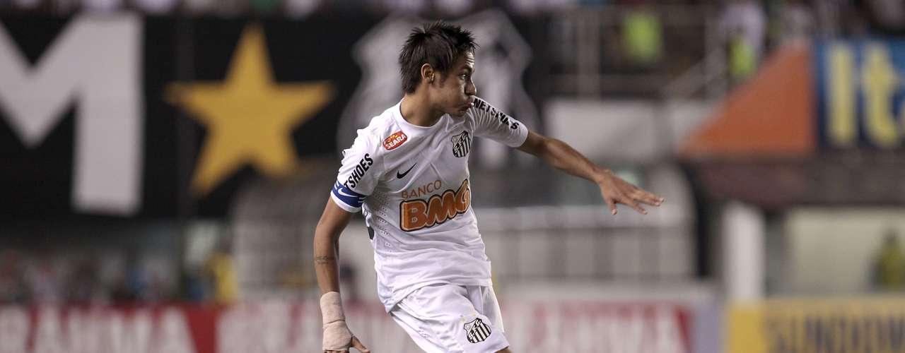 Atacante: Neymar (Santos)