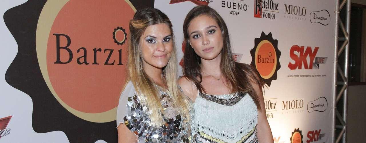 Lívia Lemos e Maria Pinna chamaram atenção