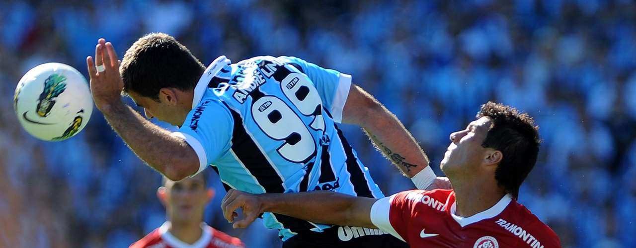 O Grêmio pressionou bastante durante o segundo tempo, mas criou poucas chances reais de gol