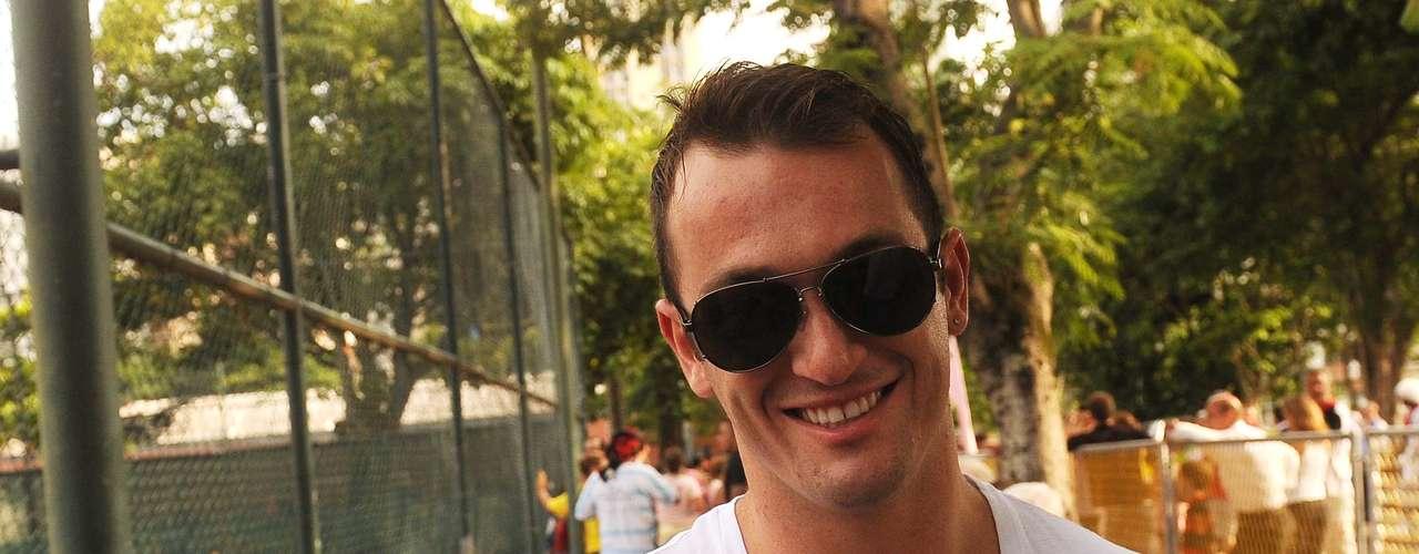 Diego Hypolito manifestou apoio a Patricia Amorim nas eleições presidenciais do Flamengo
