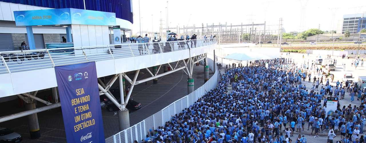 Expectativa para este sábado é de casa cheia; novo estádio tem capacidade para mais de 60 mil torcedores