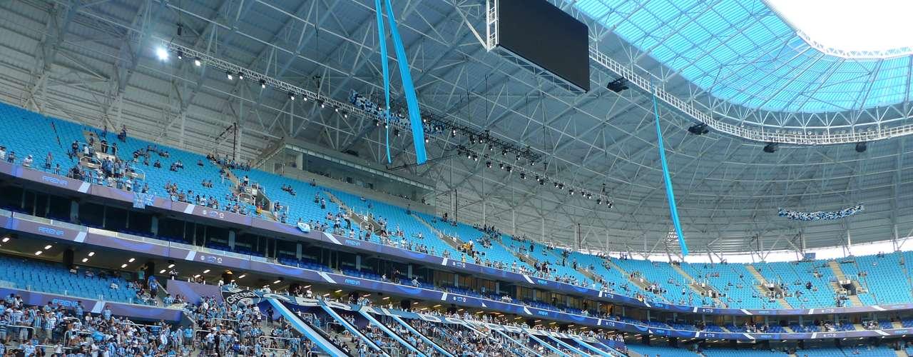 Arena do Grêmio chega para substituir Estádio Olímpico, de onde vieram os gols do campo