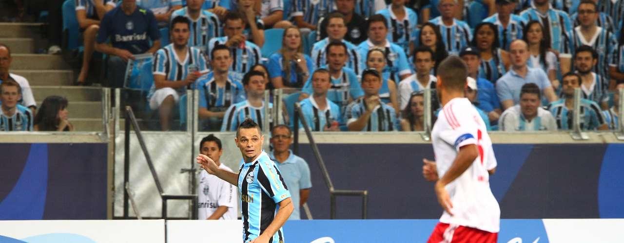 Partida da noite deste sábado marcou a inauguração da Arena Grêmio, em Porto Alegre