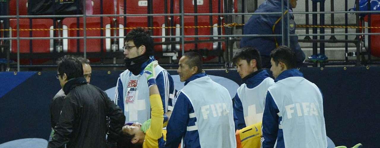Shusako precisou ser substituído por Masuda