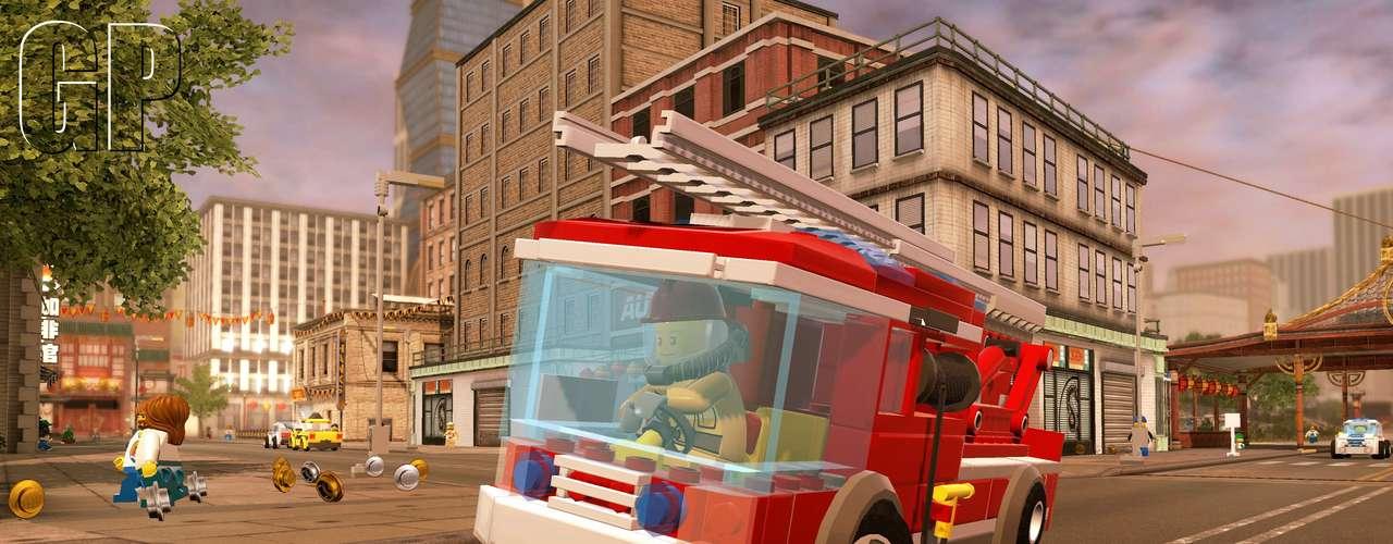 Lego City: Undercover, da Nintendo, teve novas imagens divugladas por suas produtoras. O jogo, que será lançado para o Wii U e 3DS, se passada na Lego City, onde o jogador é infiltrado na pele do policial Chase McCain na caça a criminosos