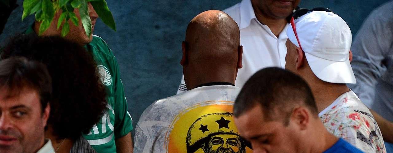 Sindicalistas demonstraram solidariedade ao ex-presidente