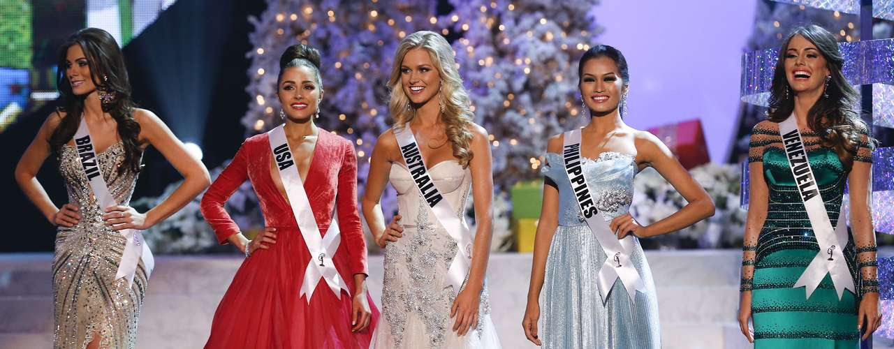 Gabriela Markus, do Brasil, foi a quinta colocada e disputou a final com as Misses Estados Unidos, Austrália, Filipinas e Venezuela