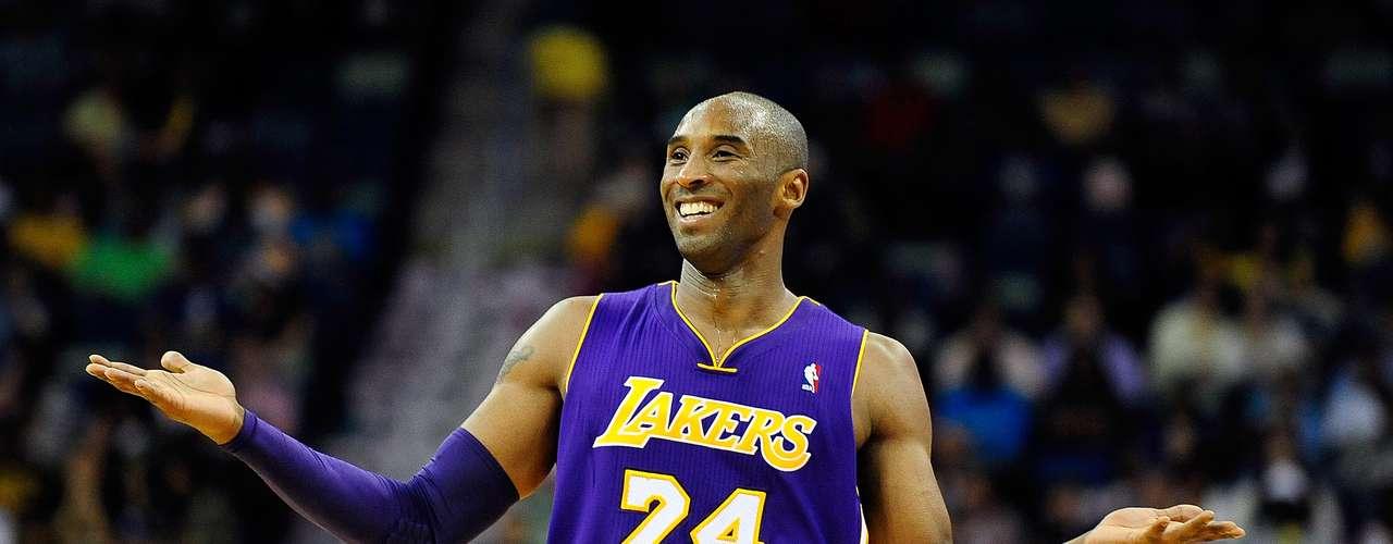 12: Kobe Bryant (EUA) - Basquete