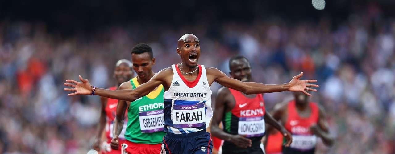 31: Mo Farah (Inglaterra) - Atletismo
