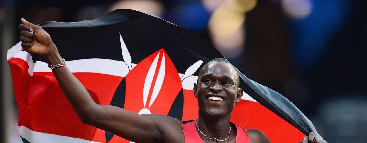 99: David Rudisha (Quênia) - Atletismo