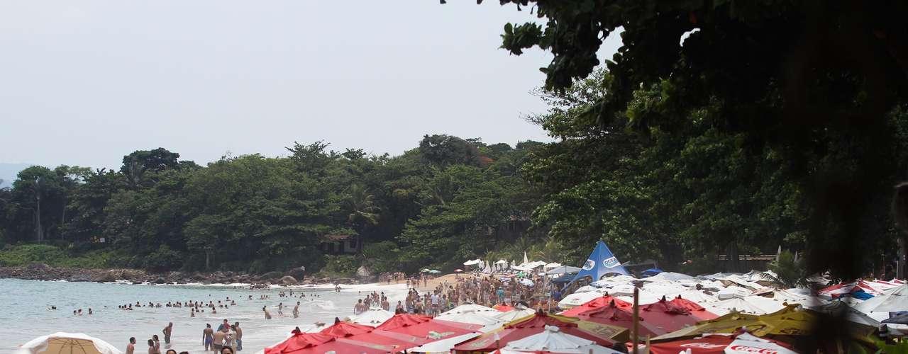 29 de dezembro Muitos turistas desceram para o litoral paulista neste feriado prolongado