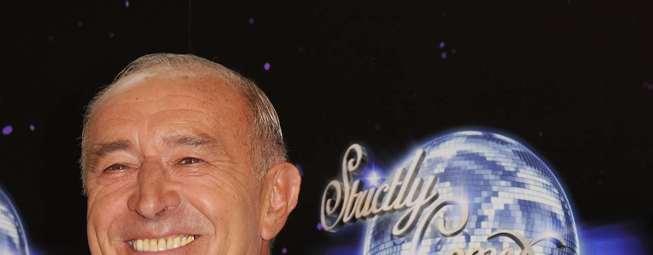 Len Goodman, 68 anos, participante do júri do programa Strictly Come Dancing: \