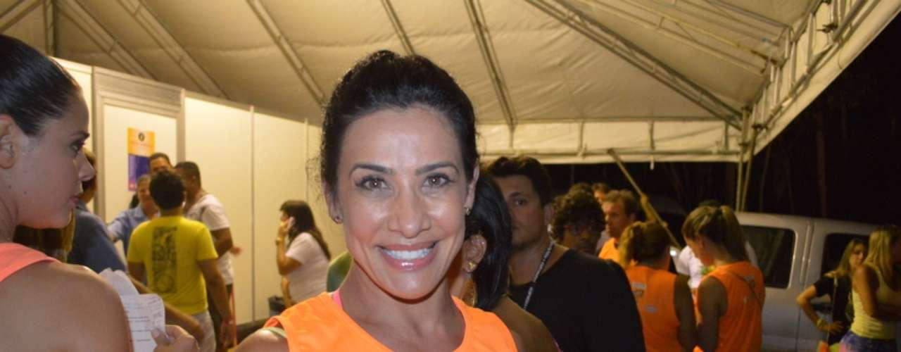 A ex-dançarina Scheila Carvalho