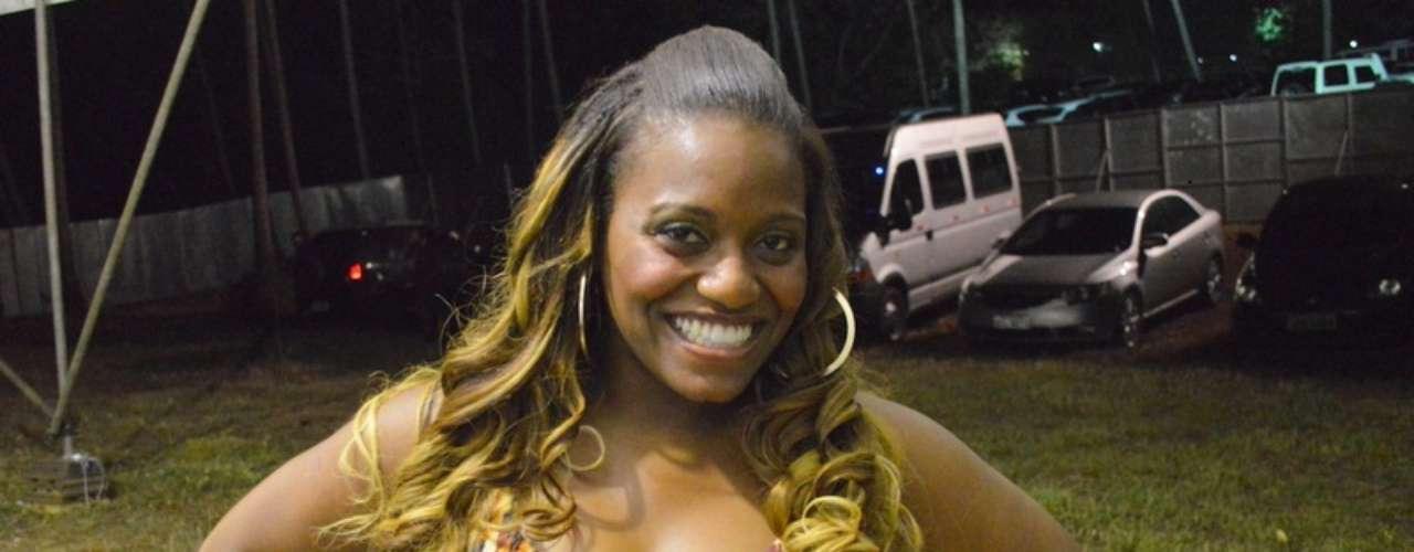 A participante do 'The Voice Brasil' Ludmillah Anjos