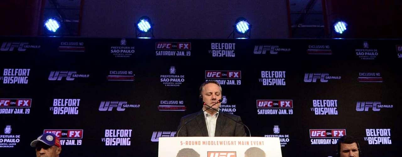 Luta entre Belfort e Bisping será o principal evento do UFC São Paulo
