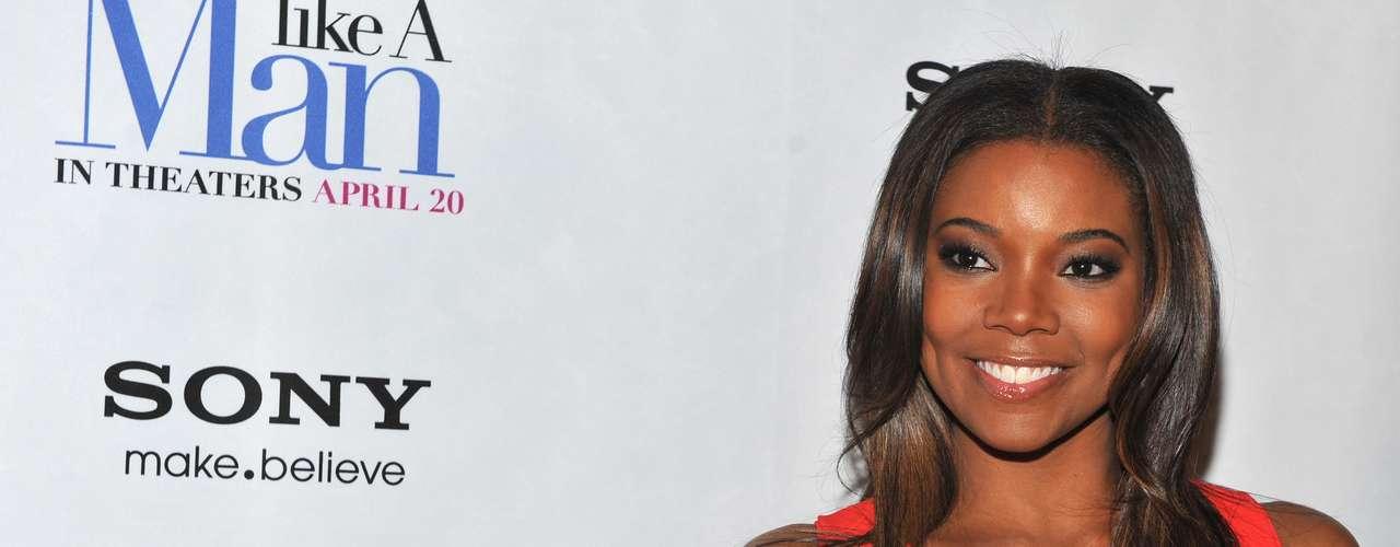 27ª: Gabrielle Union - atriz,ex-namorada do jogador de basquete Jason Kidd, ex-mulher do running back Chris Howard e atual namorada do jogador de basquete Dwyane Wade