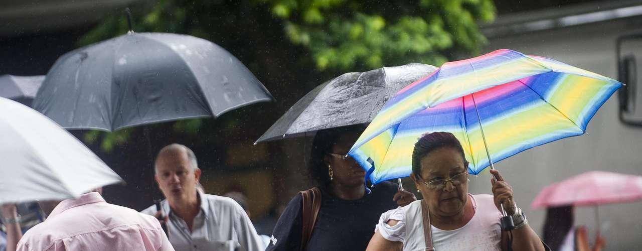 21 de janeiro Cidade do Rio de Janeiro teve chuva nesta segunda-feira