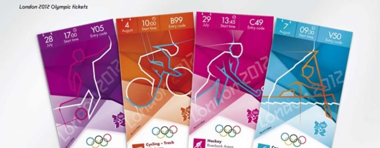 Ingressos para jogos das Olimpíadas