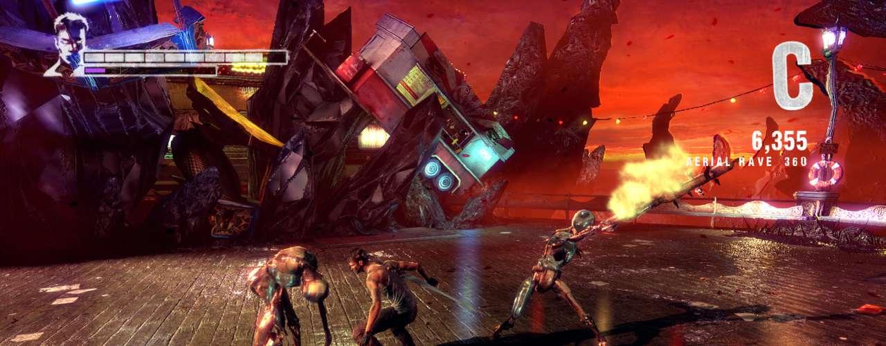 'DmC: Devil May Cry', lançado na última semana para PS3, Xbox e PC, continua sendo um bom jogo beat em up, no melhor estilo arcade com inimigos para todos lados
