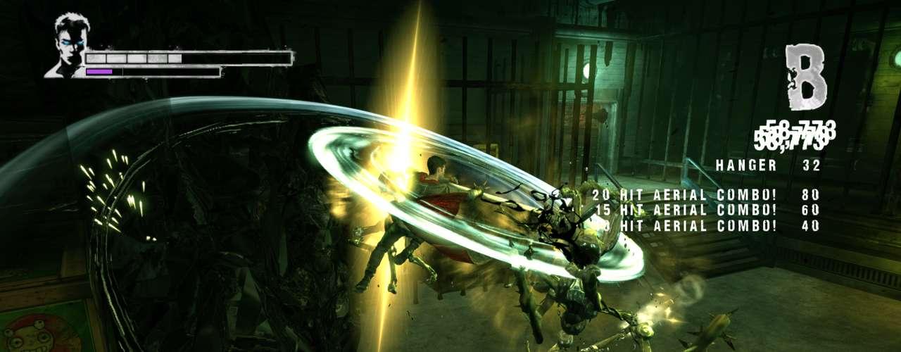 Os monstros também passaram por tratamento de primeira da Ninja Theory, mas manteram a fidelidade dos inimigos das antigas versões
