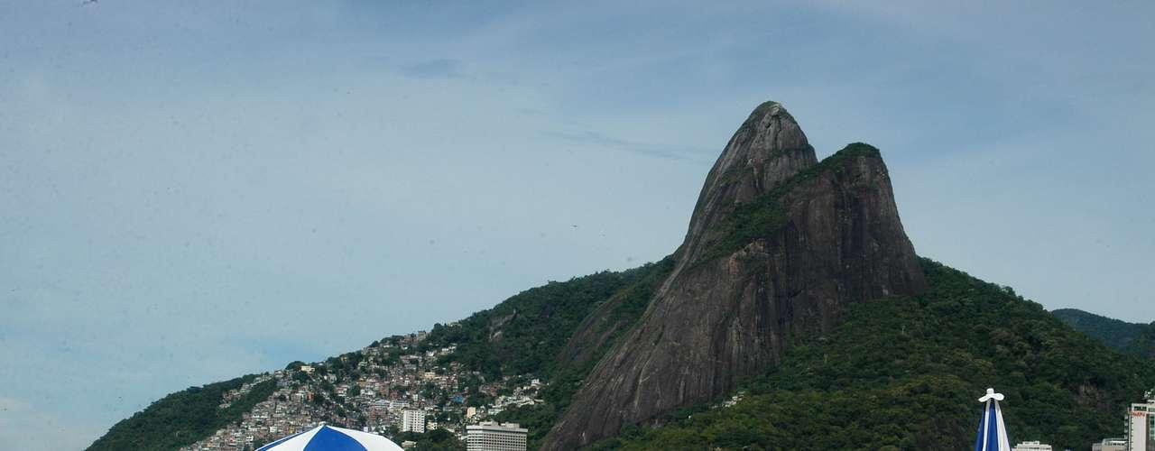 26 de janeiro -Muitos aproveitaram para praticar exercícios no sábado de tempo bom nas praias cariocas