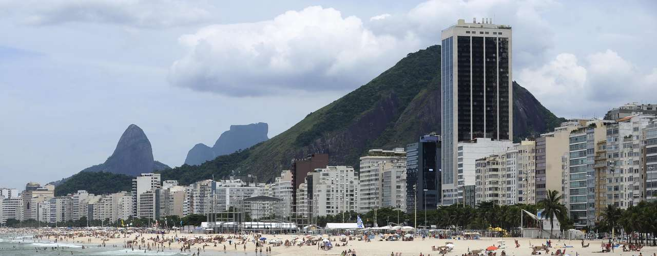 26 de janeiro - Movimentação foi intensa em praias do Rio de Janeiro neste sábado