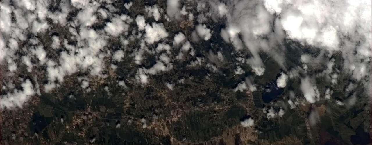 Segundo o astronauta Chris Hadfield, esta imagem mostra \