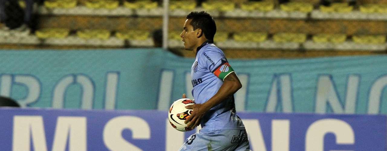 Ferreira fez o primeiro gol do Golívar na vitória sobre o São Paulo