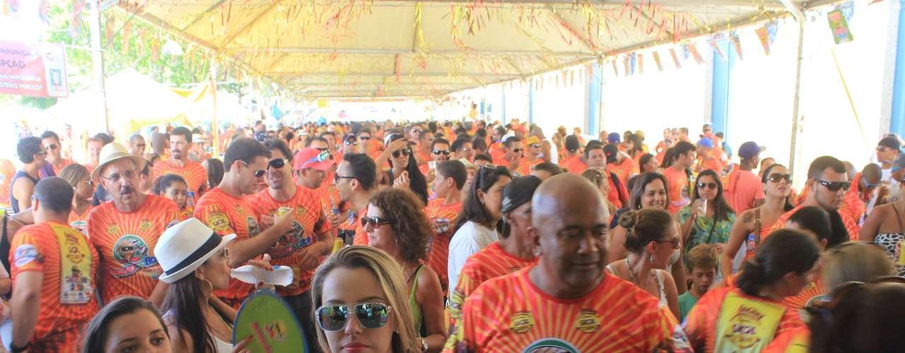 O tradicional Berbigão do Boca marcou a abertura do Carnaval de Florianópolis, na tarde desta sexta-feira (1°), com um concurso gastronômico na região central da cidade