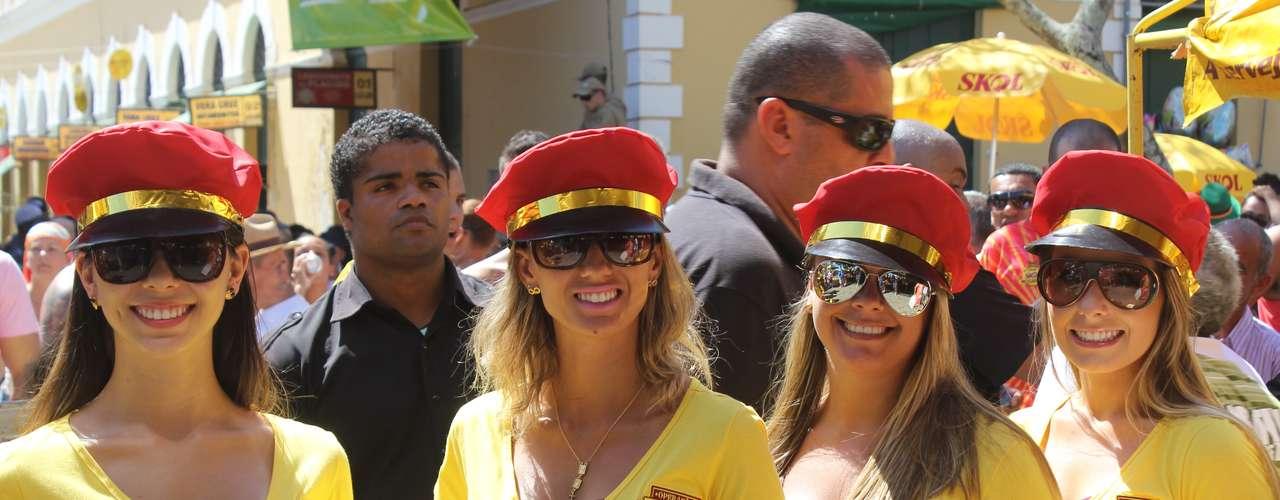 Nem mesmo o calor de 34 graus registrado na cidade afastou o público doBerbigão do Boca