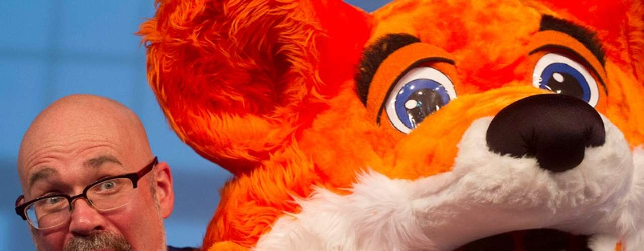 Mark Surman, da Mozilla, palestrou na Campus Party nesta sexta-feira