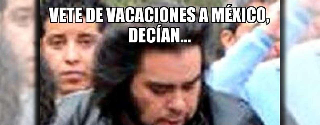 Alguns usuários dizem que o Wolverine mexicano teve que deixar as férias para ajudar seus conterrâneos