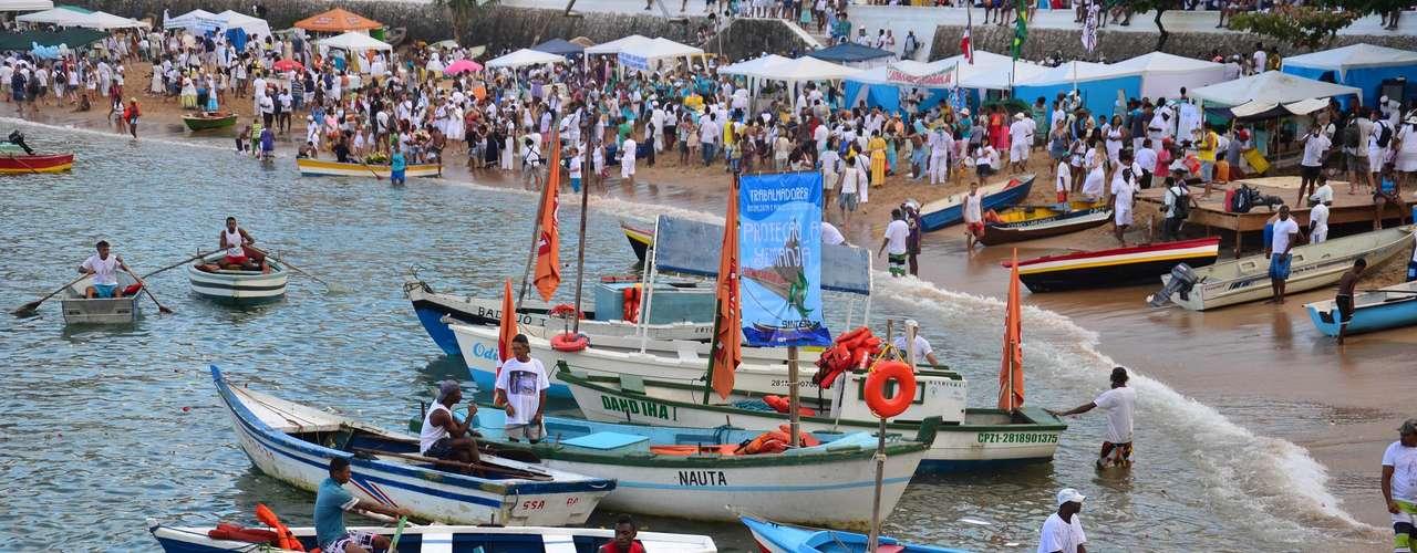 A tradição é comemorada desde 1923 na Bahia, sempre no dia 2 de fevereiro
