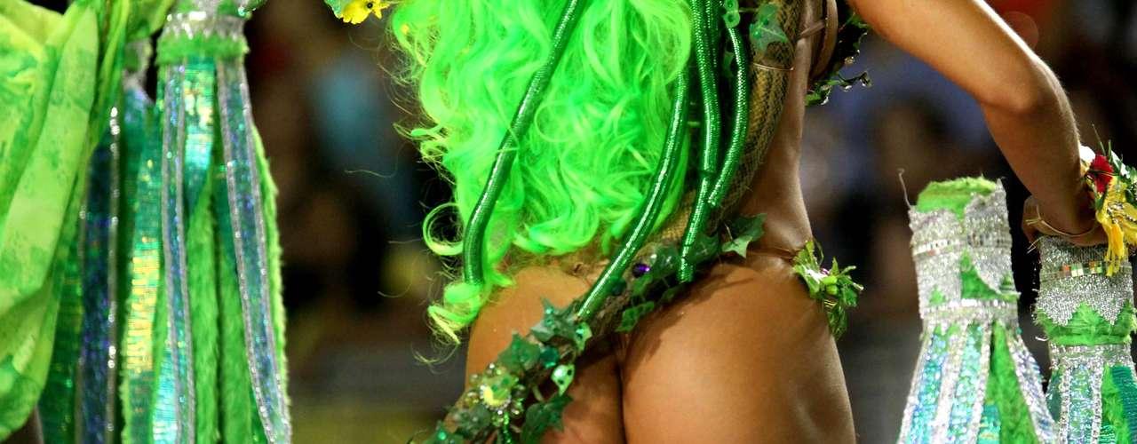Desfile da Tom Maior no Carnaval de São Paulo