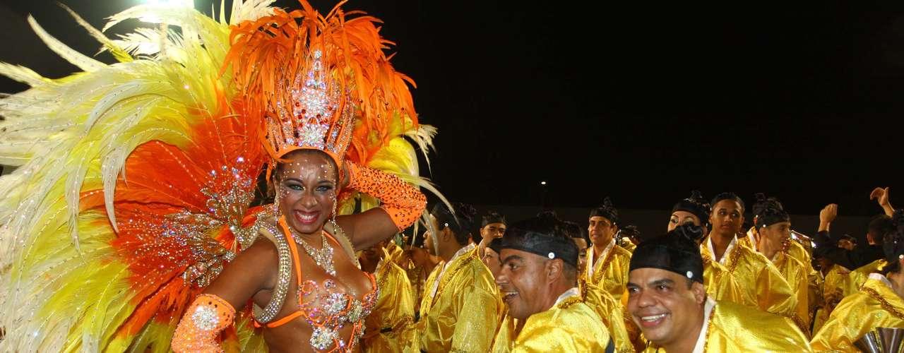Escola foi a quinta a ir para o desfile; em 2012, Vila Maria foi a quinta colocada