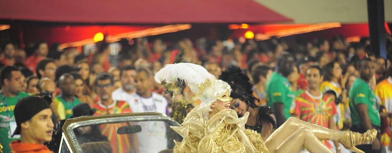 Desfile da Grande Rio na Marquês de Sapucaí