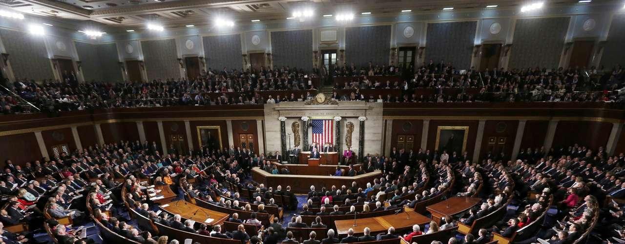 O líder americano, cujo discurso se centrou na defesa da classe média, assinalou que o fortalecimento da economia passa por aproveitar \