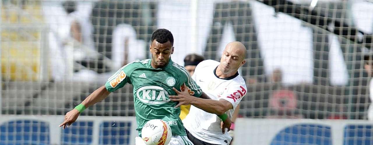 O clássico entre Corinthians e Palmeiras foi válido pela oitava rodada do Campeonato Paulista