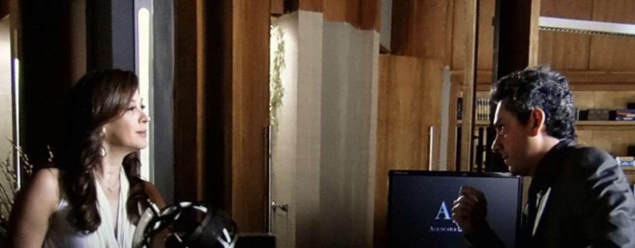 Lívia (Claudia Raia) não se conforma com as acusações de Théo (Rodrigo Lombardi) e decide processar o capitão