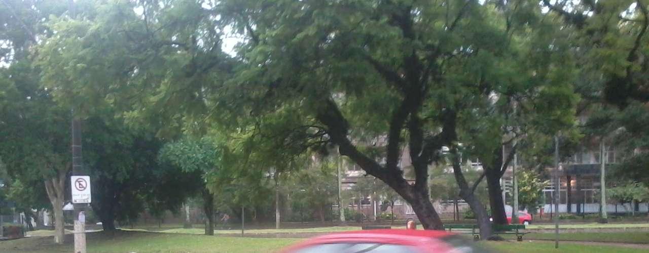 Devido ao temporal, cerca de 20 mil imóveis ficaram sem luz na Grande Porto Alegre, segundo balanço divulgado pela CEEE, empresa responsável pelo fornecimento na região