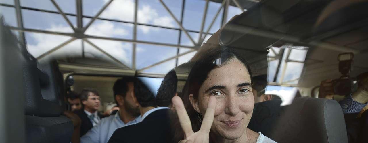 A blogueira disse que a primeira passagem pelo Brasil está sendo emocionante