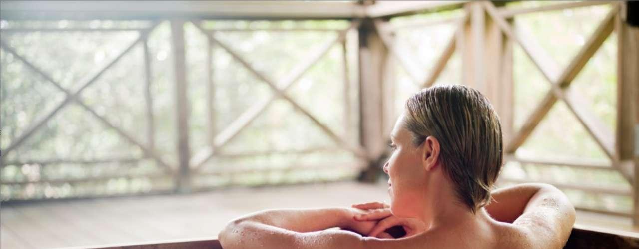 Parrot Cay, Turcas e Caícos: o spa do resort, o COMO Shambhala Retreat, tem tratamentos inspirados em diferentes influências da cultura asiática como pilates e aromaterapia, equilibrando o bem-estar físico, mental e espiritual