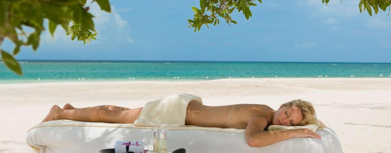 Sandals Whitehouse European Village & Spa, Jamaica: o spa Red Lane é um santuário de relaxamento e rejuvenescimento com diferentes tratamentos usando apenas produtos naturais