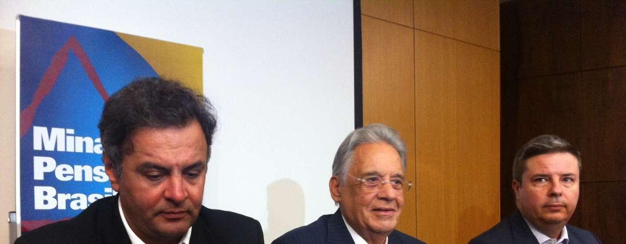 Durante o evento, FHC disse que oPT não tem projeto e chamou a presidente Dilma de ingrata