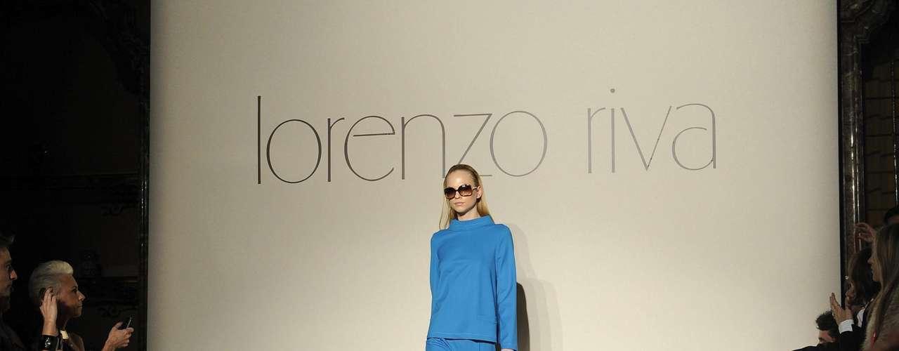 A mulher Lorenzo Riva é uma diva, gosta de casaquinhos trapézio, calças de alfaiataria e vestidos com muito movimento
