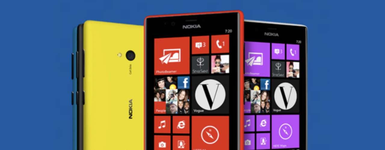 O Nokia Lumia 720 tem preço sugerido de 249 euros, vem com uma câmera com lentes Carl Zeiss luminosa (f/1.9) e será vendido na Ásia, África e alguns mercados da Europa a partir deste trimestre